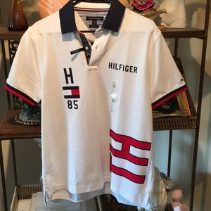 Tommy Hilfiger NWT Performance Polo Custom Fit